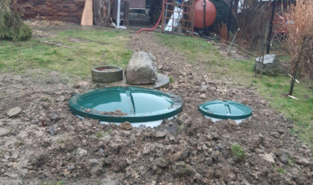 soustava domácích čistíren odpadních vod